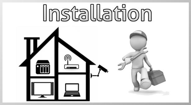 NAS: Installation