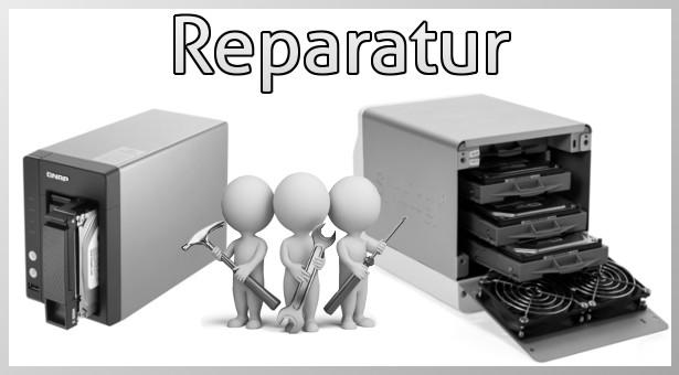 NAS: Reparatur